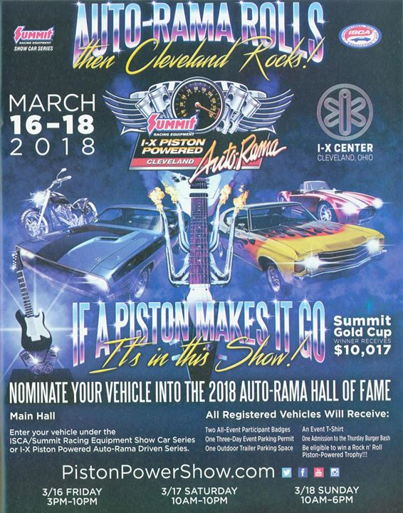 AUTO RAMA ROLLS Then Cleveland Rocks At IX Center Cleveland - Ix center car show 2018