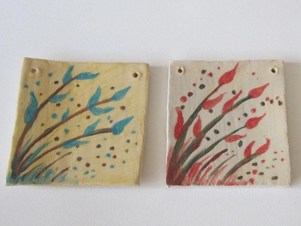 Ceramic Tiles with Sarah Burton at Focus Gallery & Nottingham ...