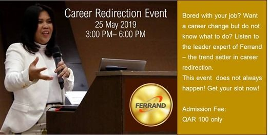 Career Redirection Event at Ferrand Training Center - Qatar, Doha