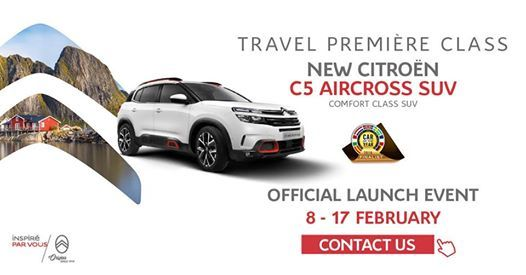 Citroen C5 Aircross SUV Launch Event
