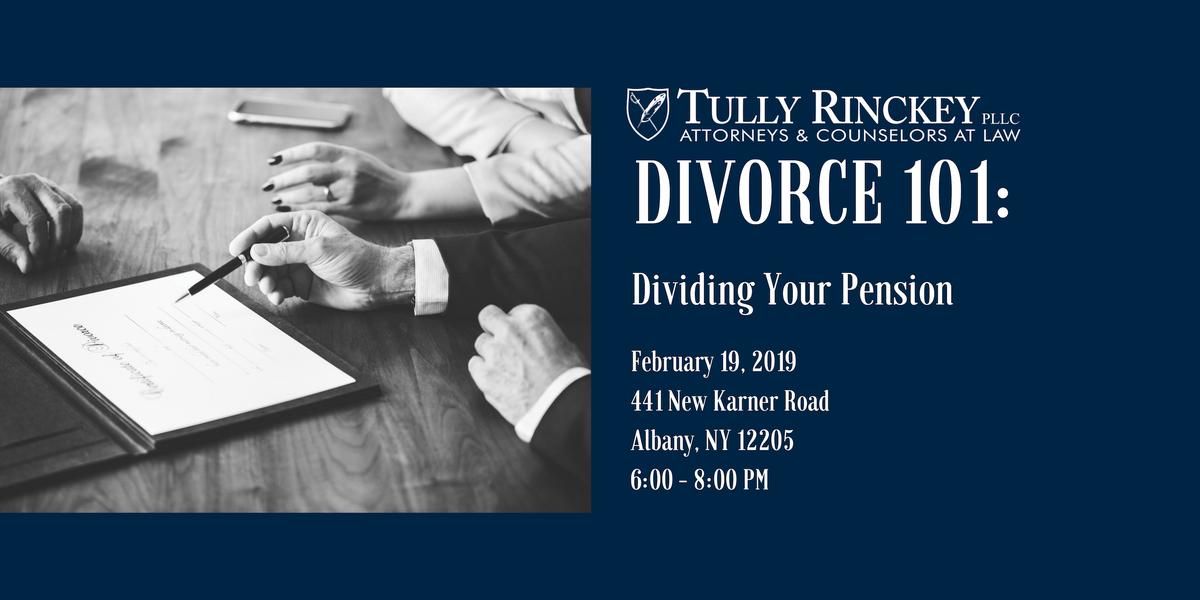 Divorce 101 Dividing Your Pension