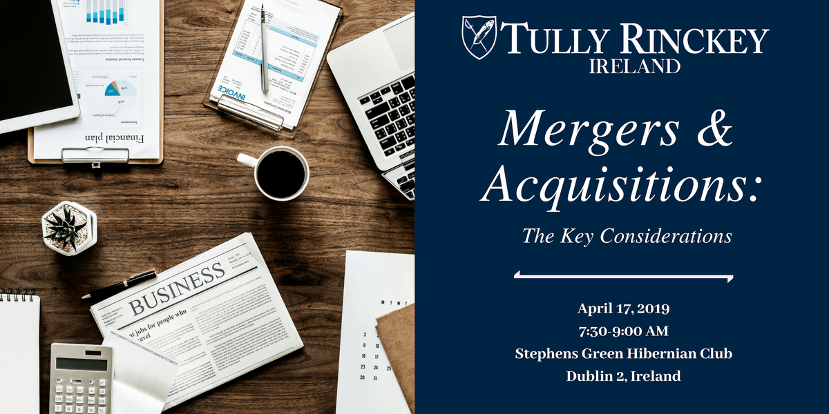 Mergers & Acquisitions The Key Considerations