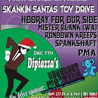 Skankin Santas Toy Drive (LB) - Hooray For Our Side  Mister Blank  MORE
