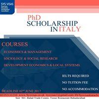 Scholarship in Italy