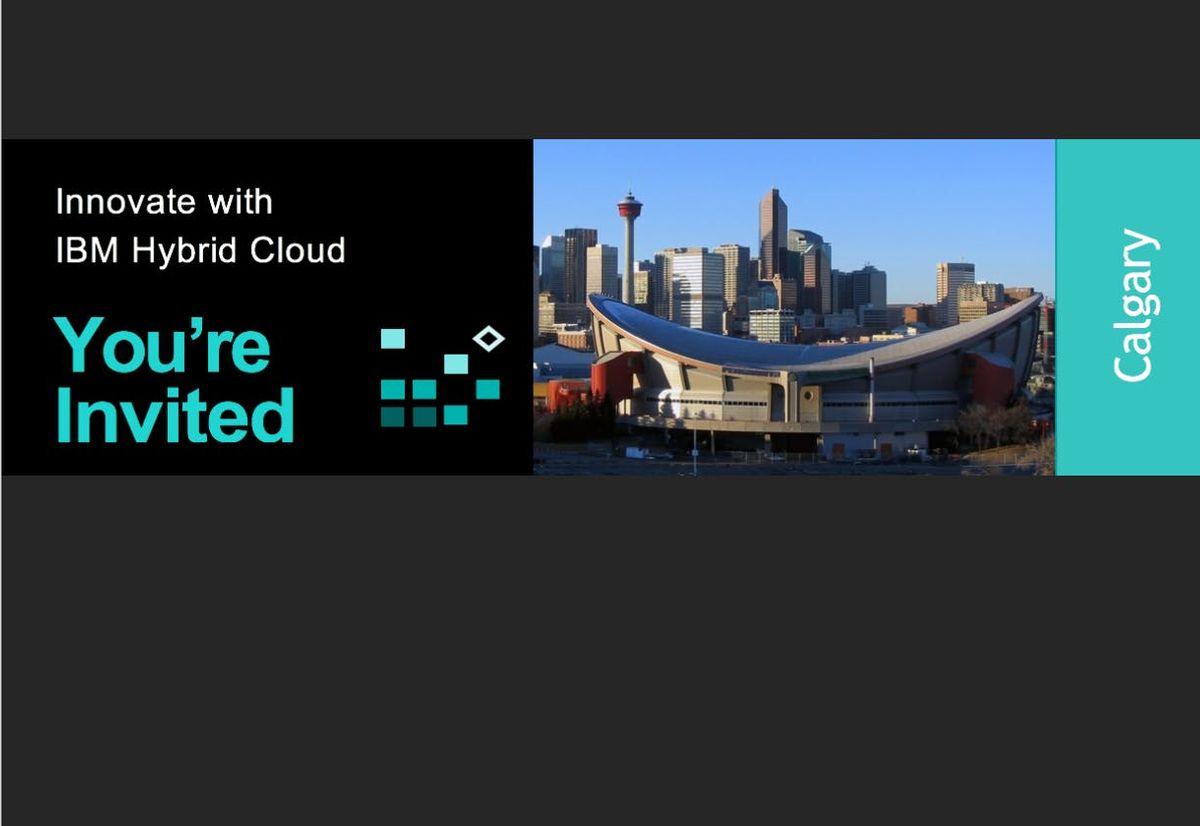 Innovate with IBM Hybrid Cloud (Calgary)