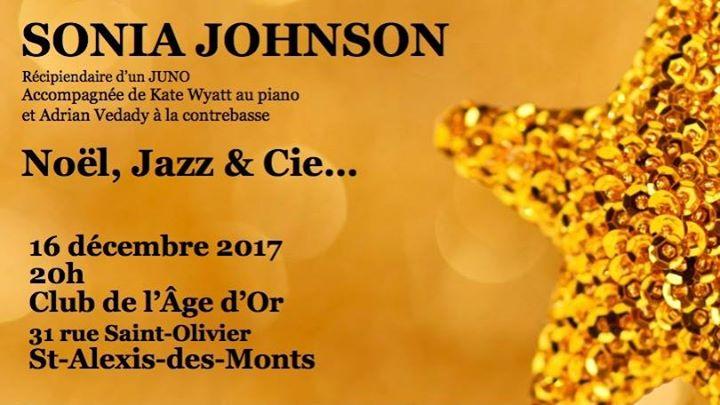 Sonia Johnson Concert Nol Jazz et Cie