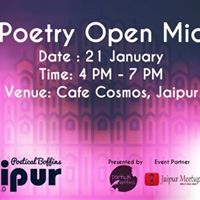 Poetical Boffins Jaipur Chapter 1.0 - Poetry Open Mic.