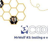 CoopUPBo - MrWolf 3 testing e validazione