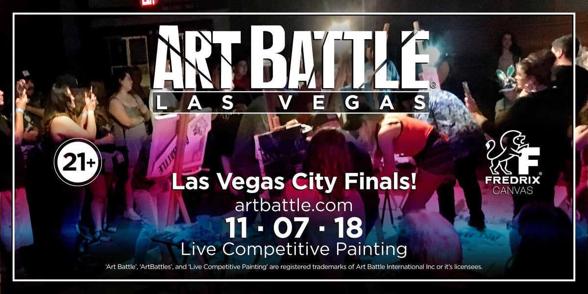 Art Battle Las Vegas City Finals - November 7 2018