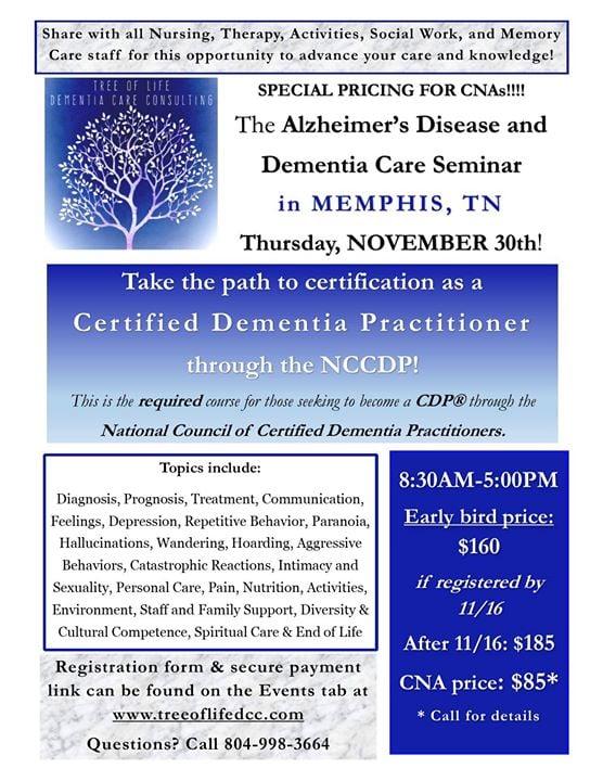 Addcs For Geriatric Care Providers At Memphis Tn Memphis