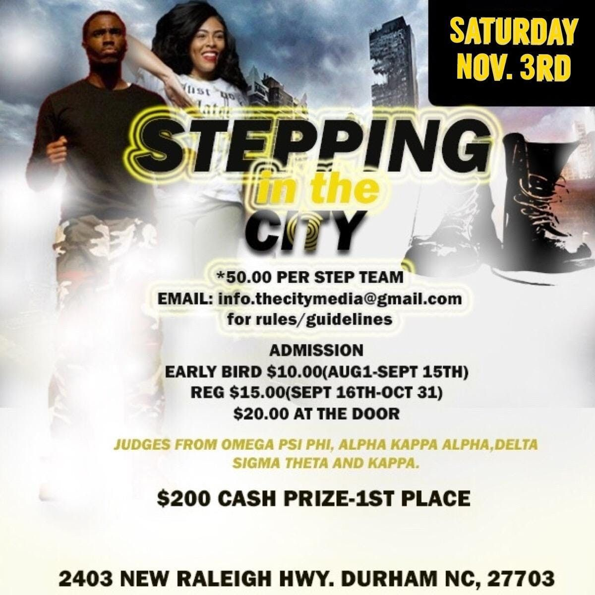 Stepping In The City At 2403 New Raleigh Hwy Durham