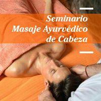 Seminario de Masaje Ayurvdico de Cabeza.