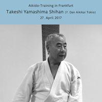 Aikido-Training mit Yamashima Shihan