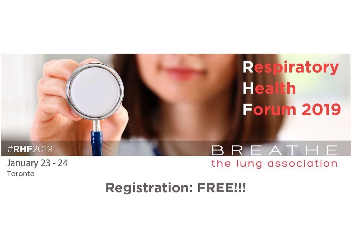 Respiratory Health Forum 2019