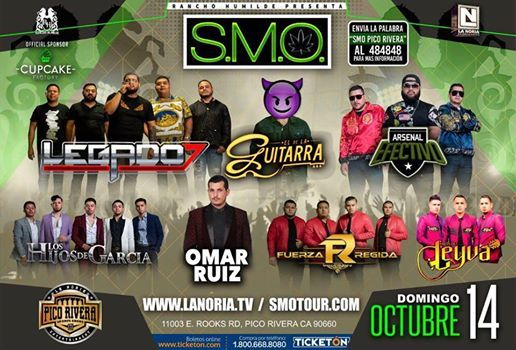 SMO Tour - Pico Rivera Sports Arena