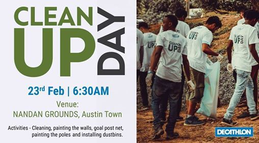 Clean up day - 23rd February