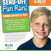 Zachs Send-Off Family Fun Run