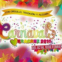 Viaje desde Puebla al Carnaval de Veracruz 2016