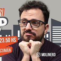 Pablo Molinari - YoNerd en Tucumn