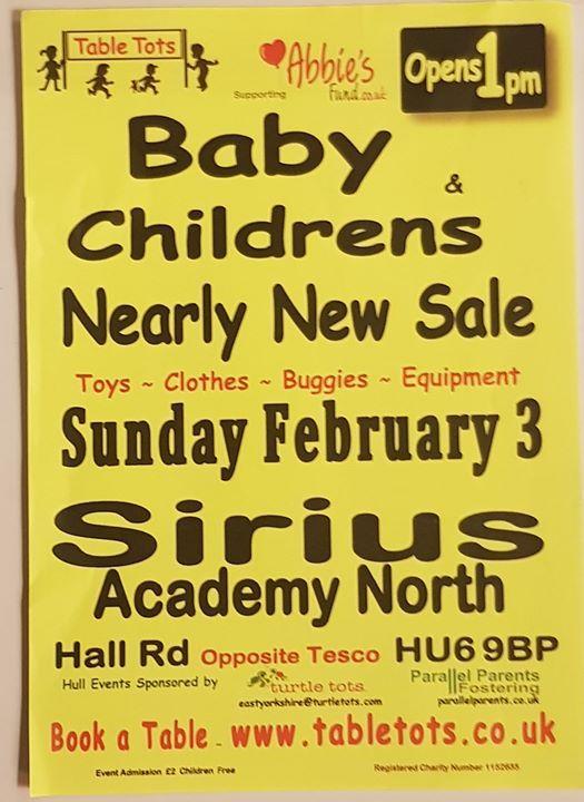 4de25c504 Table Tots Hull Sirius Acad North Baby & Childrens Indoor Market. Table  Tots Baby & Childrens Nearly New Sale