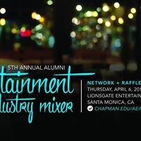 5th Annual Alumni Entertainment Industry Mixer