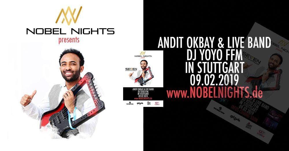 Nobel Nights pres. Andit Okbay & Live Band