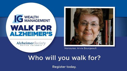TriCities IG Wealth Management Walk For Alzheimers At TD