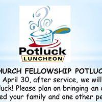 Church Fellowship Potluck
