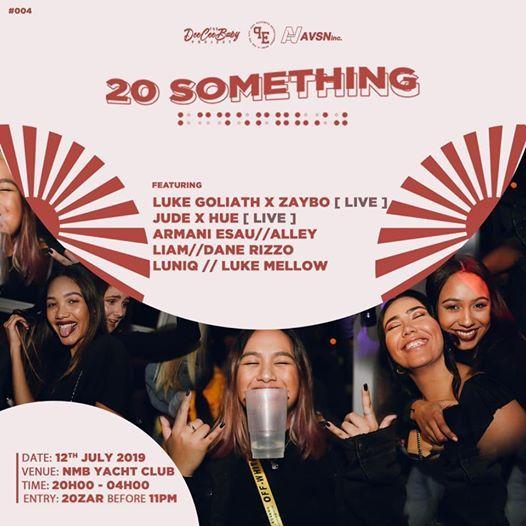 20 Something at Nelson Mandela Bay Yacht Club, Port Elizabeth