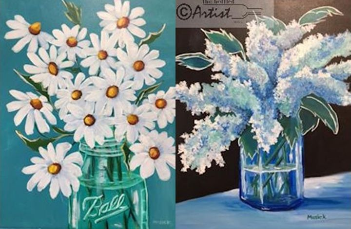 Oopsy daisy paint and sip with us yorktown indiana for Paint and sip louisville co