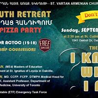 Youth Retreat &amp Pizza Party