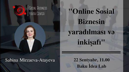 SBYC_Baku Online sosial biznesn yaradlmas v inkiaf