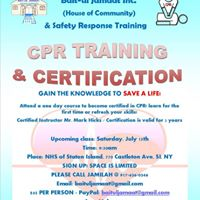 CPR Training &amp Certification
