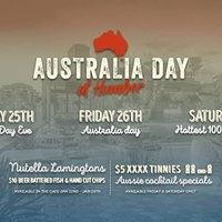 Australia Day at Humber