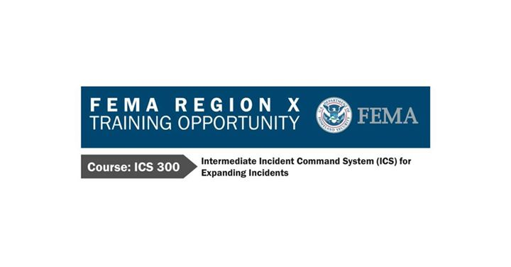 FEMA ICS 300 Intermediate Incident Command System at Lynnwood, WA
