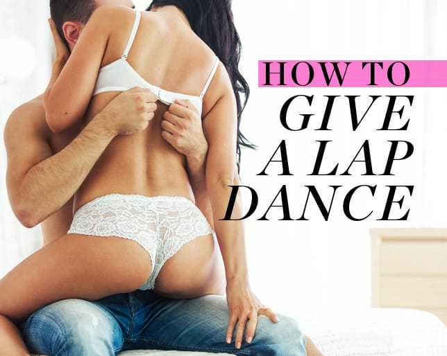 How to do a sexy lap dance