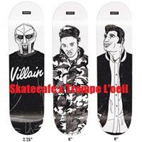 Skatecaf X Trompe LOeil Open Mics &amp Rides