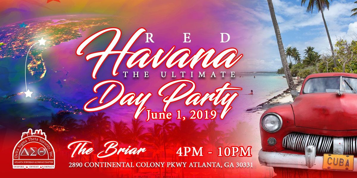Red Havana The Ultimate Day Party