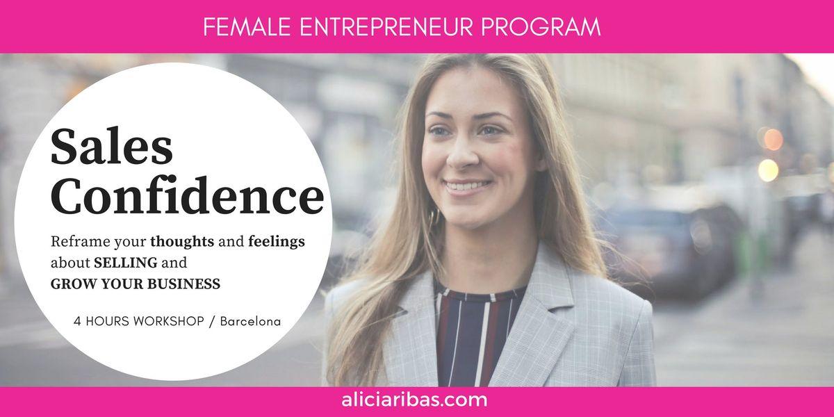 SALES CONFIDENCE for Female Entrepreneurs  Freelancers  Founders