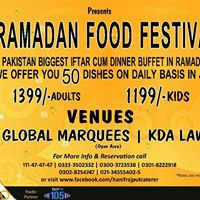 Ramadan FOOD Festival 2017