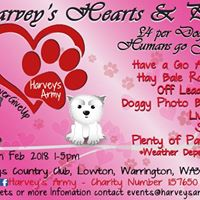 Harveys Army Hearts and Paws valentines event- Charity