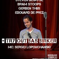 Comedy Open-mic met try-out Bas Birker