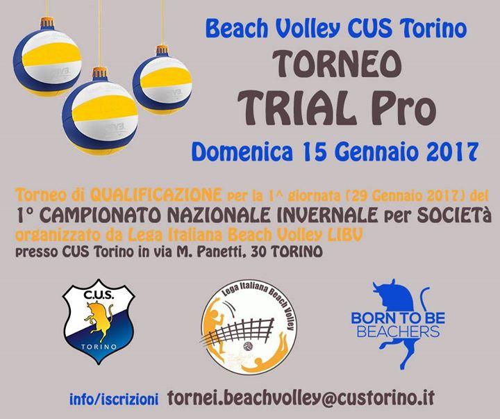 Torneo TRIAL maschile e femminile PRO