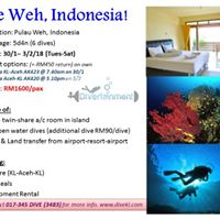 Dive Pulau Weh Indonesia