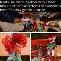 Crazy Christmas Sock gift exchange party.