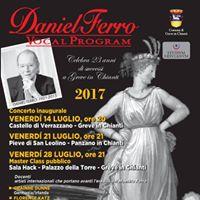 Daniel Ferro Vocal Program 2017 Master class pubblico