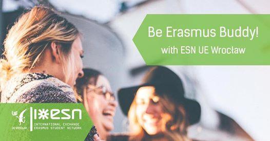Rekrutacja do Programu Mentor ESN UE Wrocaw Be Erasmus Buddy