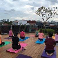 Rooftop Sunset Yoga at myVillage Serangoon Gardens