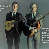 Frances Luke Accord Concert Mount Vernon - Sat. May 6 730 pm