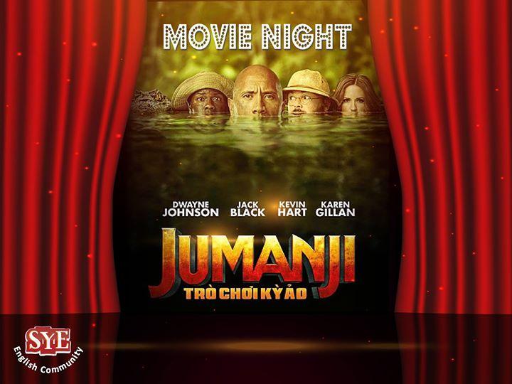 Movie night  Jumanji  at SYE Nasr City